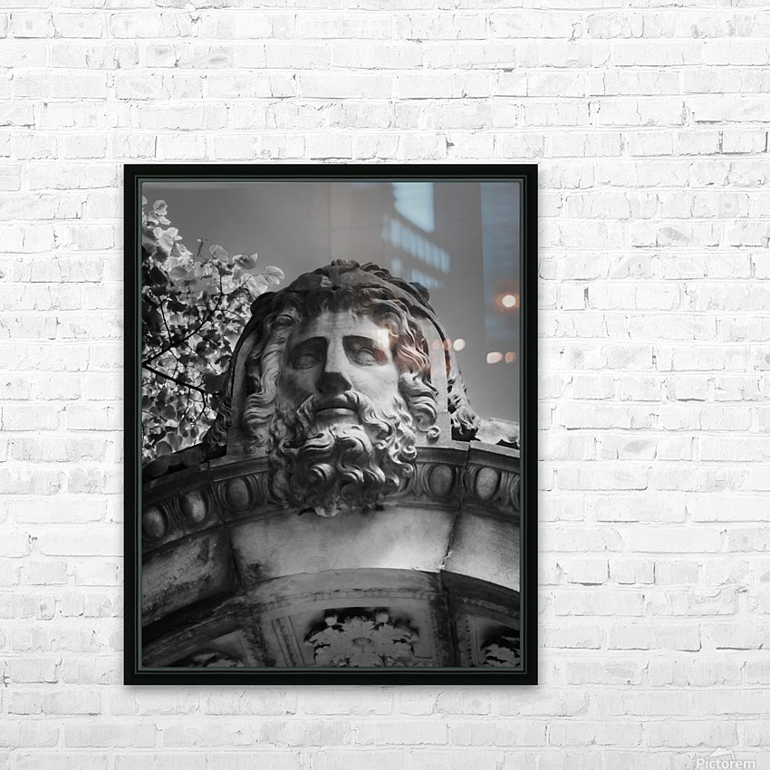 Sleeping Zeus HD Sublimation Metal print with Decorating Float Frame (BOX)