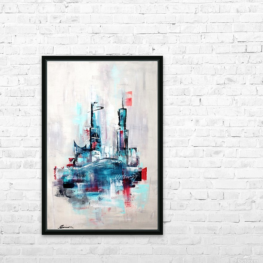 Uptown XVIII HD Sublimation Metal print with Decorating Float Frame (BOX)