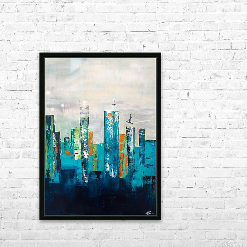 Uptown II HD Sublimation Metal print with Decorating Float Frame (BOX)