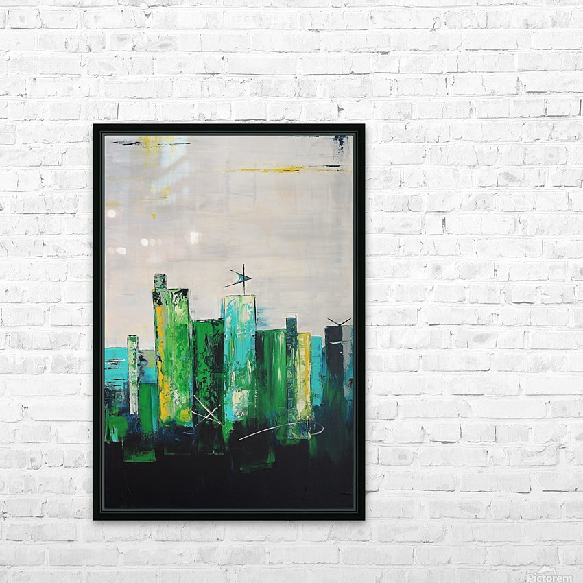Uptown XIX HD Sublimation Metal print with Decorating Float Frame (BOX)