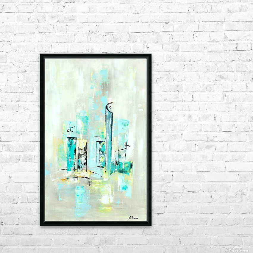Uptown XII HD Sublimation Metal print with Decorating Float Frame (BOX)