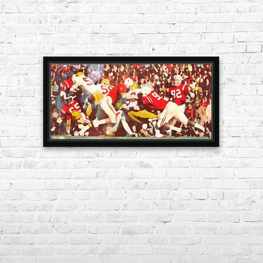 Saturday Afternoon In Lincoln HD Sublimation Metal print with Decorating Float Frame (BOX)