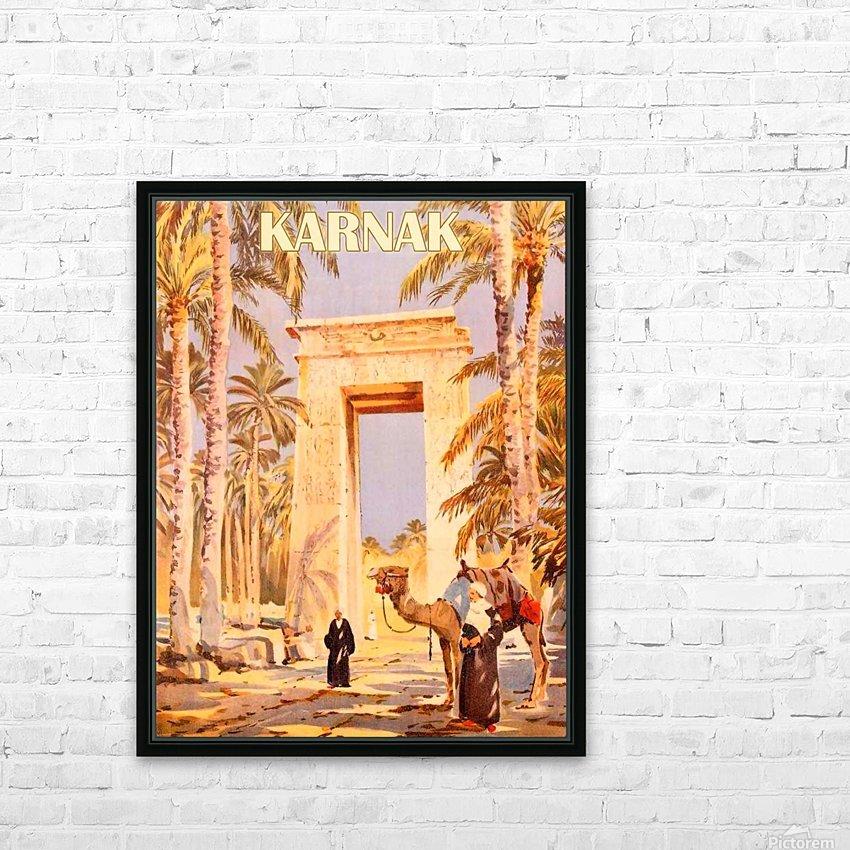 Karnak HD Sublimation Metal print with Decorating Float Frame (BOX)