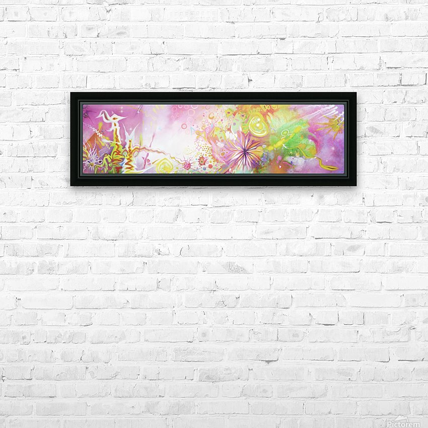 INNER NATURE  HD Sublimation Metal print with Decorating Float Frame (BOX)