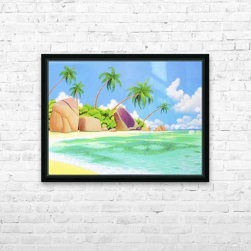 YASAWA  HD Sublimation Metal print with Decorating Float Frame (BOX)