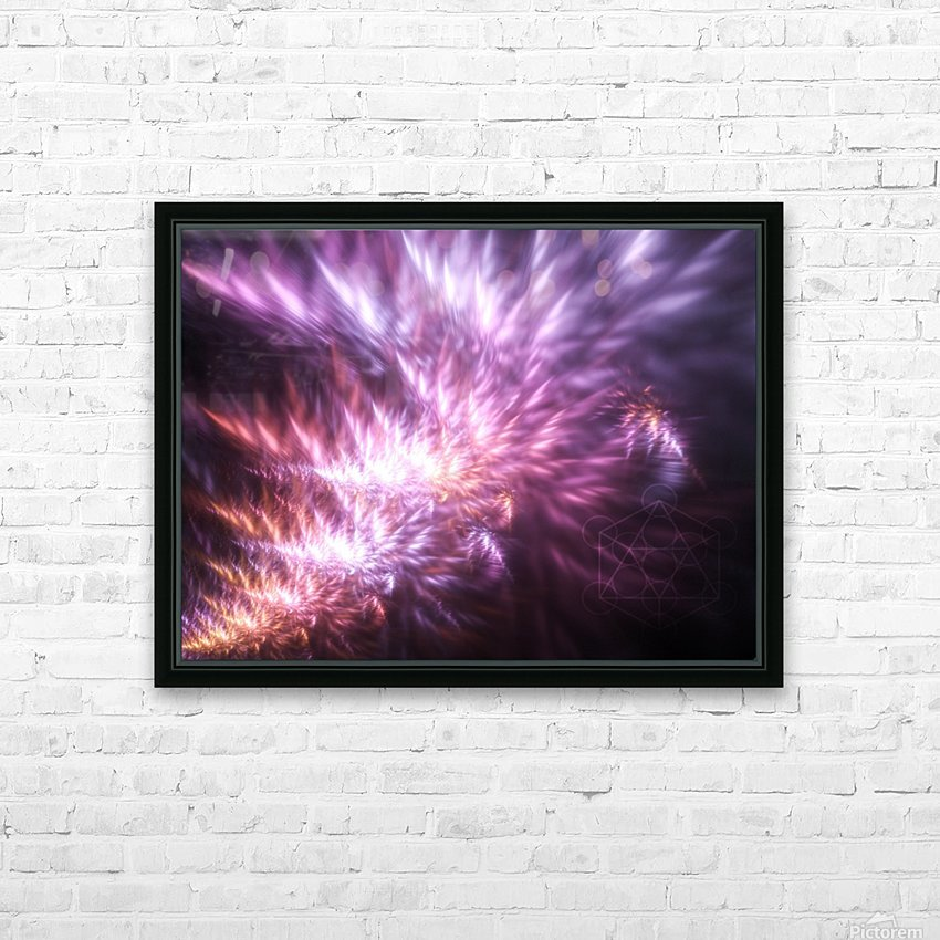 Gnosis HD Sublimation Metal print with Decorating Float Frame (BOX)