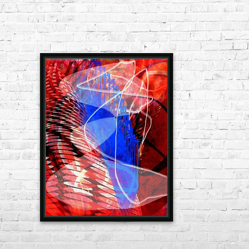 Z I T U HD Sublimation Metal print with Decorating Float Frame (BOX)