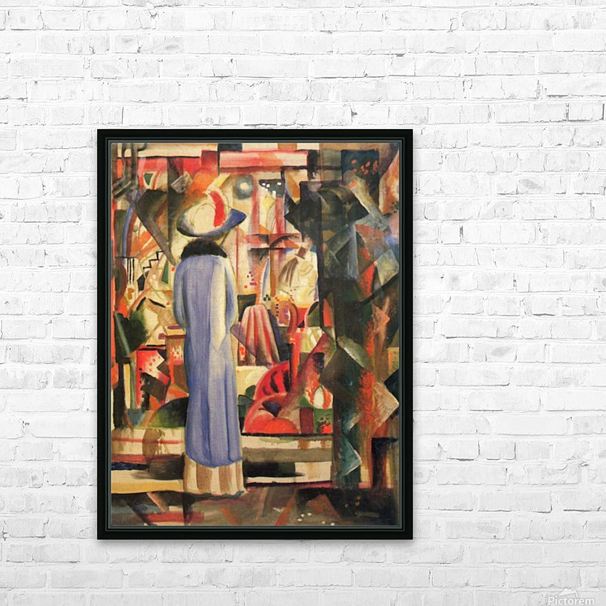 Large bright showcase by Macke HD Sublimation Metal print with Decorating Float Frame (BOX)