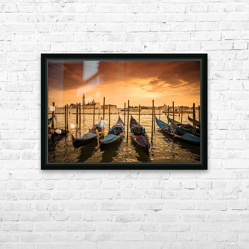 Venise HD Sublimation Metal print with Decorating Float Frame (BOX)
