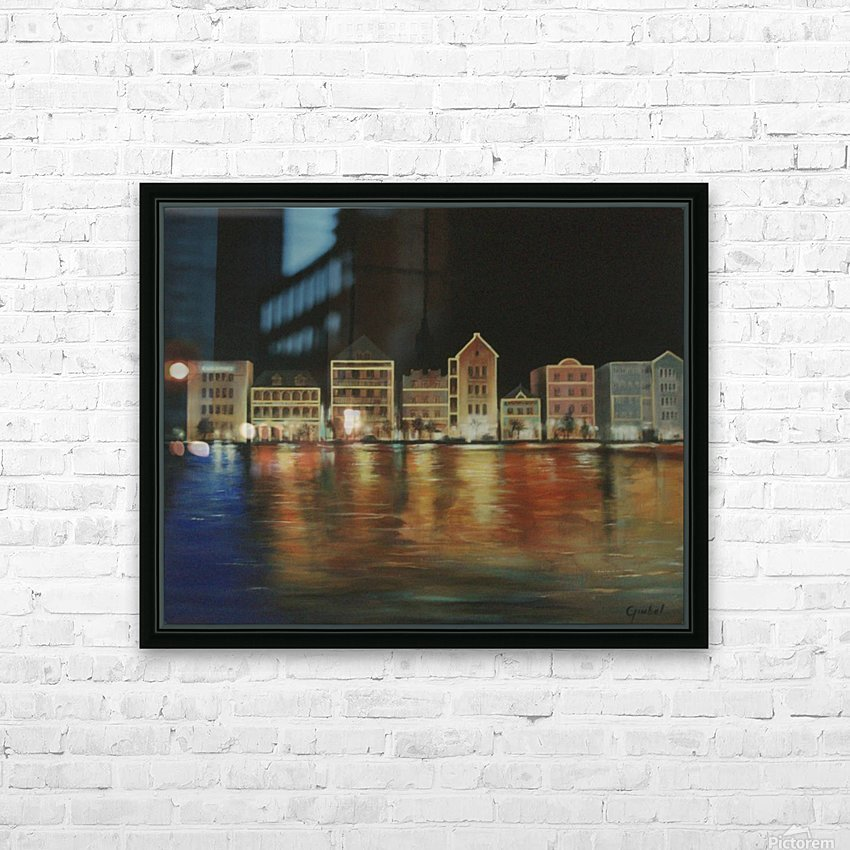 curacao  HD Sublimation Metal print with Decorating Float Frame (BOX)