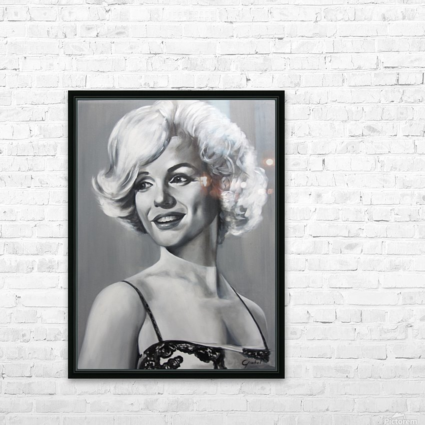 Monroe HD Sublimation Metal print with Decorating Float Frame (BOX)
