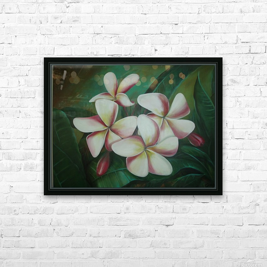 plumaria HD Sublimation Metal print with Decorating Float Frame (BOX)