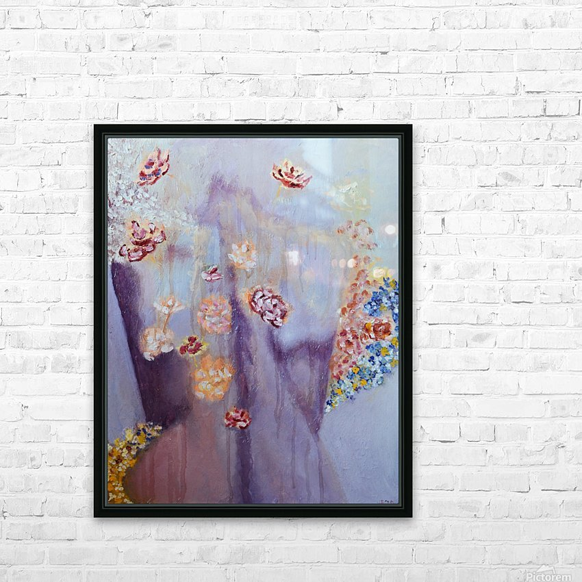 Figure in a  Dreamscape II HD Sublimation Metal print with Decorating Float Frame (BOX)