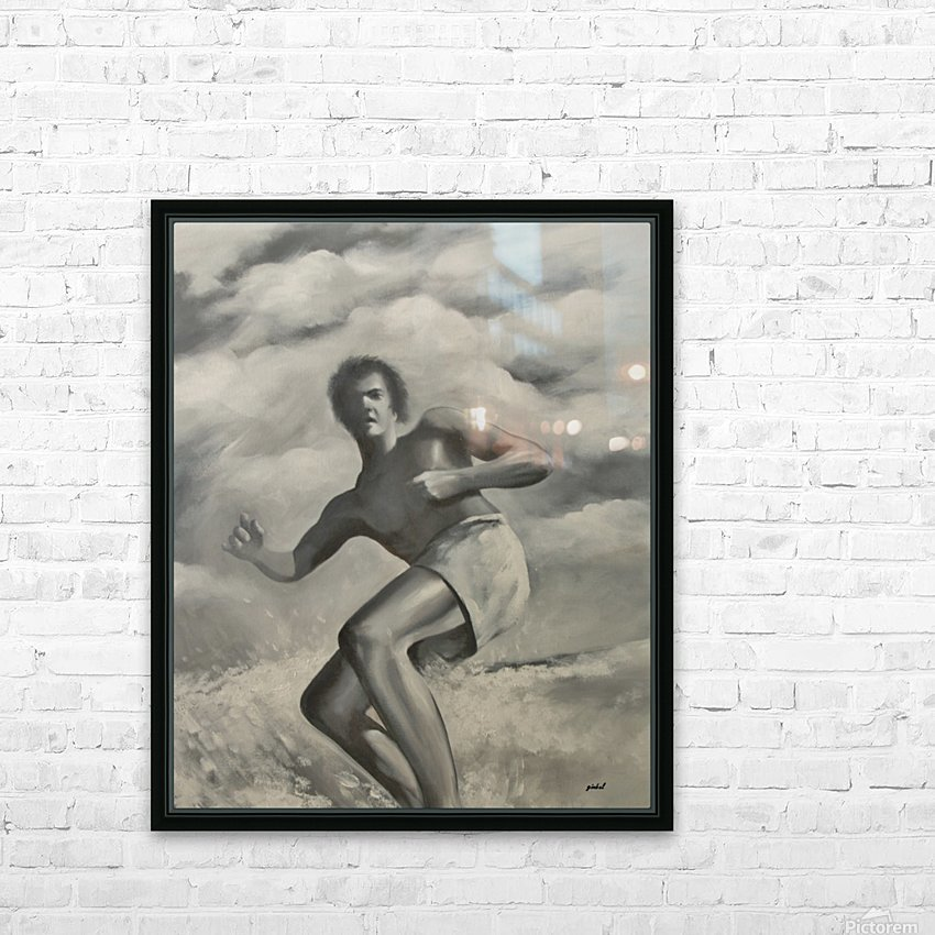 surfer HD Sublimation Metal print with Decorating Float Frame (BOX)