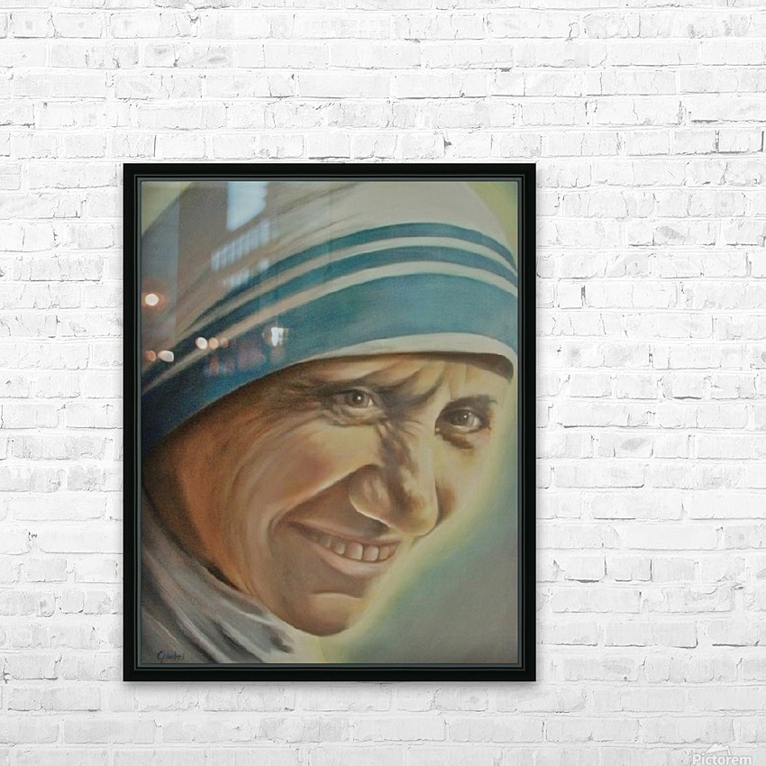 Mother Teresa (c) HD Sublimation Metal print with Decorating Float Frame (BOX)