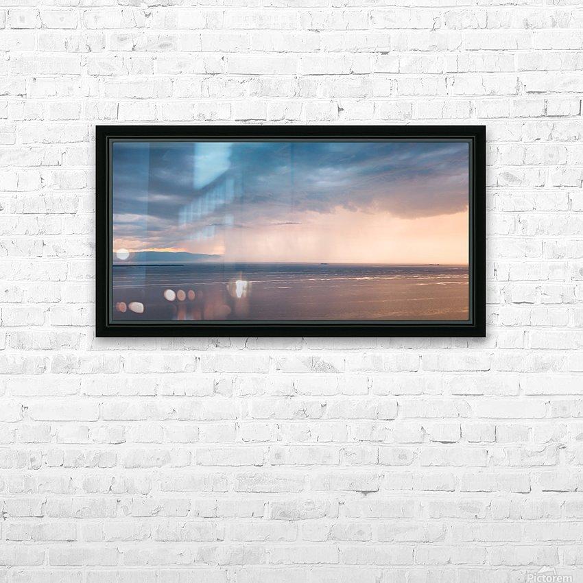 Veille dorage HD sublimation métal imprimé avec décoration flotteur cadre (boîte)