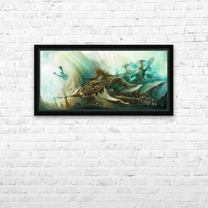 Finding Nemo HD Sublimation Metal print with Decorating Float Frame (BOX)