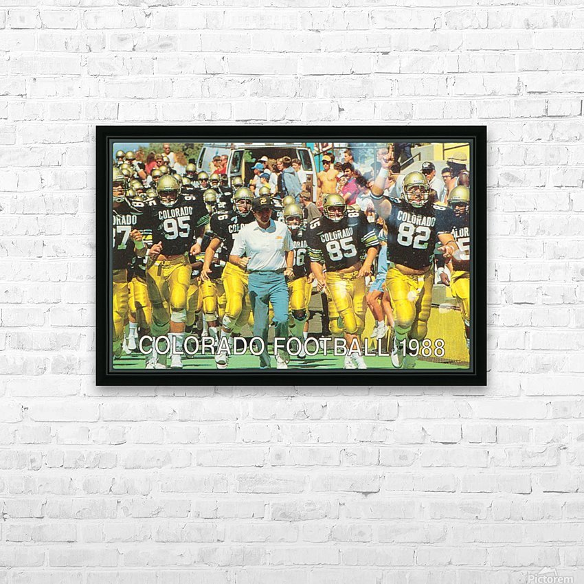 1988 colorado football HD Sublimation Metal print with Decorating Float Frame (BOX)