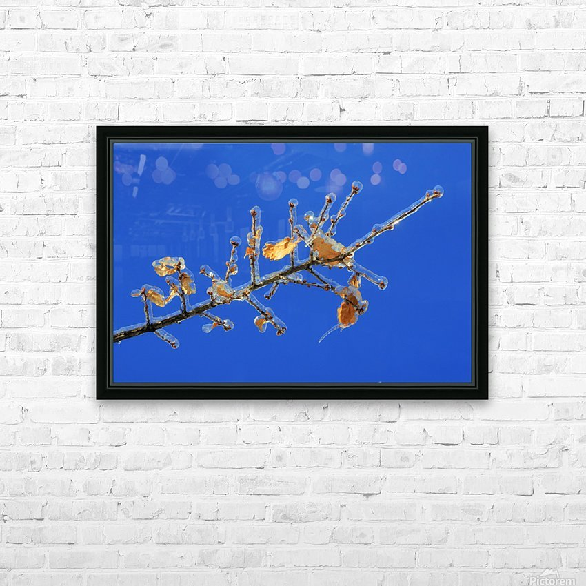 Sucreries glacees HD Sublimation Metal print with Decorating Float Frame (BOX)