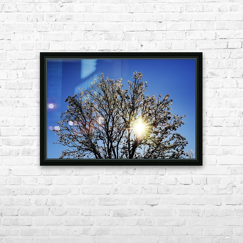 Eblouissant HD Sublimation Metal print with Decorating Float Frame (BOX)
