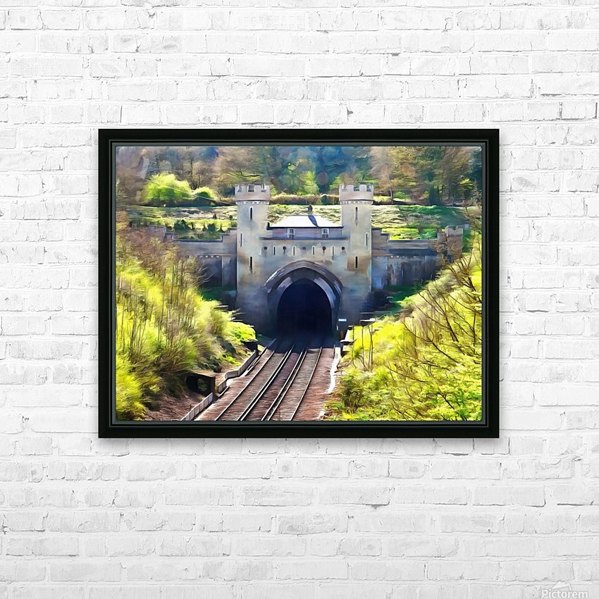 Clayton Tunnel in Sussex England HD Sublimation Metal print with Decorating Float Frame (BOX)