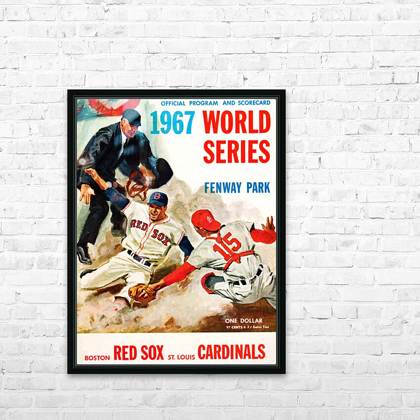Vintage Heinz Ketchup Ad  HD Sublimation Metal print with Decorating Float Frame (BOX)