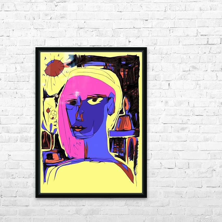 Women of Reboot Series   ⠀⠀⠀⠀⠀⠀⠀⠀⠀⠀⠀⠀ Hel Mort HD Sublimation Metal print with Decorating Float Frame (BOX)
