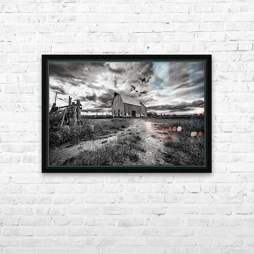 The Barnyard HD Sublimation Metal print with Decorating Float Frame (BOX)