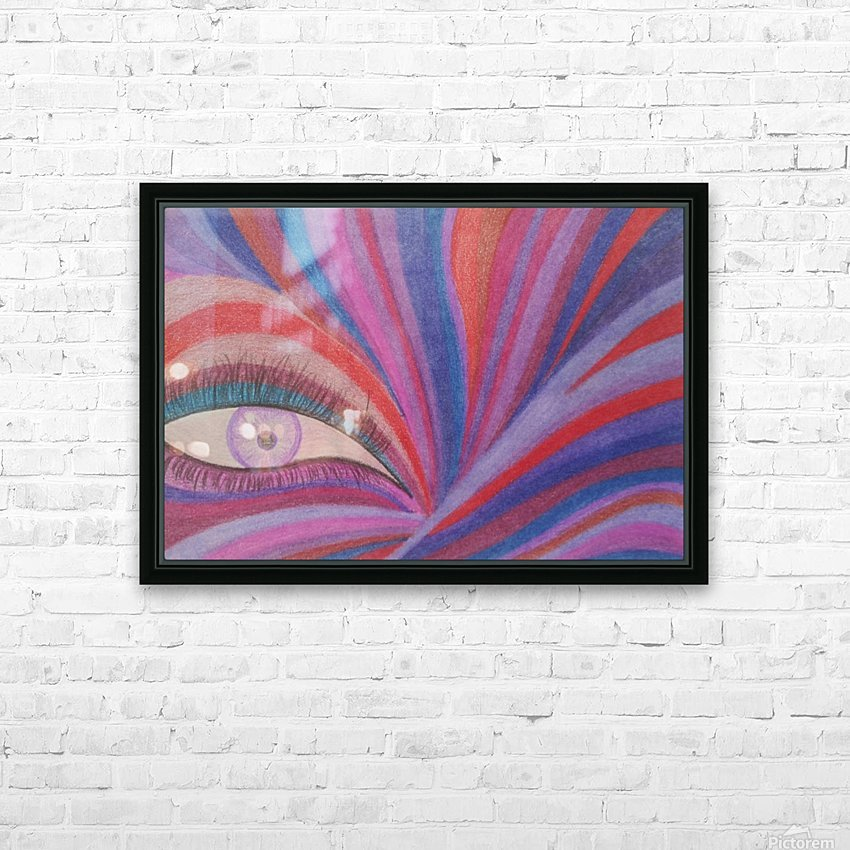 Fairy Eye HD Sublimation Metal print with Decorating Float Frame (BOX)