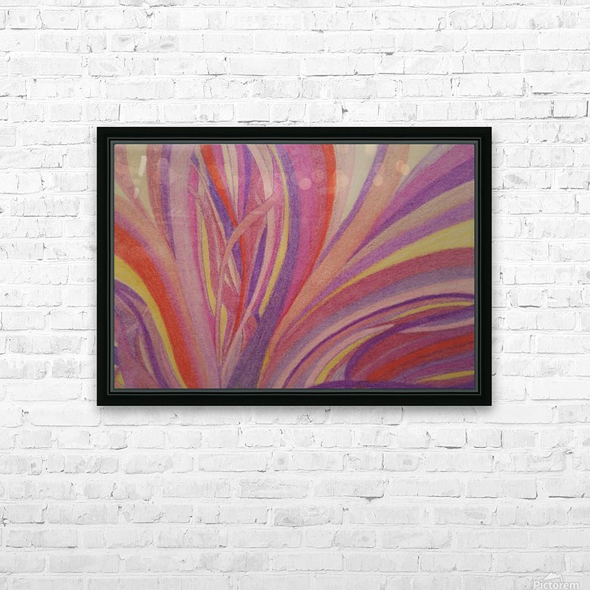 Secret Fields HD Sublimation Metal print with Decorating Float Frame (BOX)