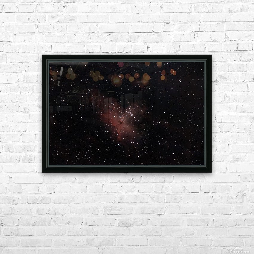 Eagle Nebula HD Sublimation Metal print with Decorating Float Frame (BOX)