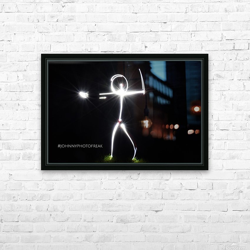 Stickman series  HD Sublimation Metal print with Decorating Float Frame (BOX)