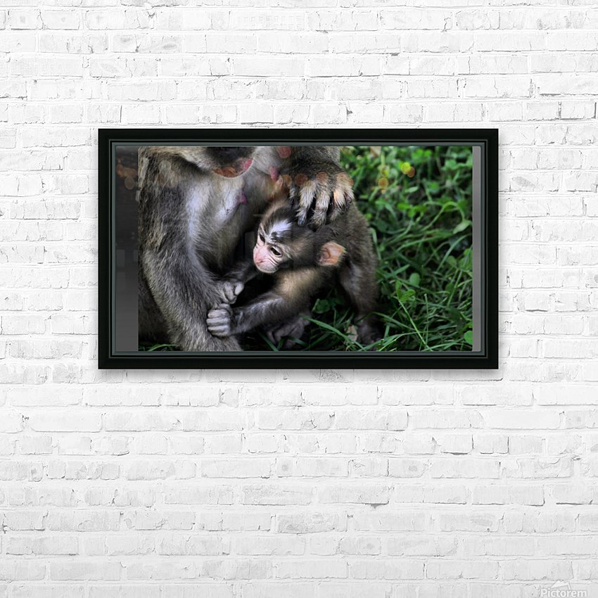Family time HD Sublimation Metal print with Decorating Float Frame (BOX)