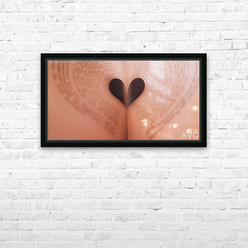 Love of Reading HD Sublimation Metal print with Decorating Float Frame (BOX)
