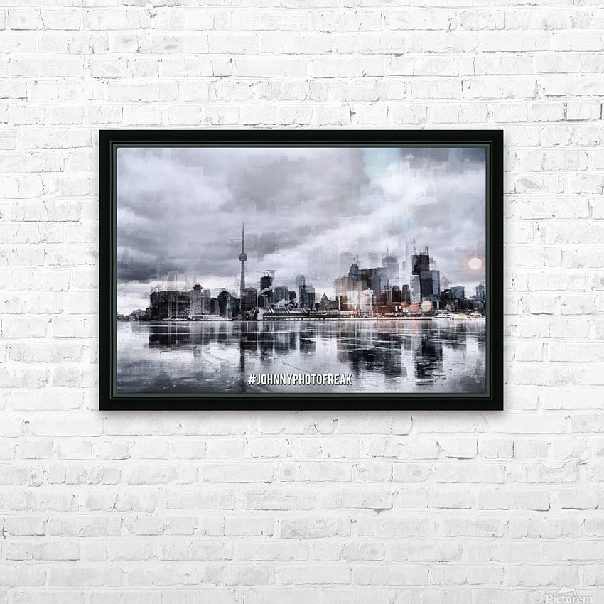 Toronto on the ice  HD Sublimation Metal print with Decorating Float Frame (BOX)