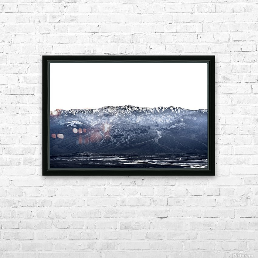 Dantes peak HD Sublimation Metal print with Decorating Float Frame (BOX)