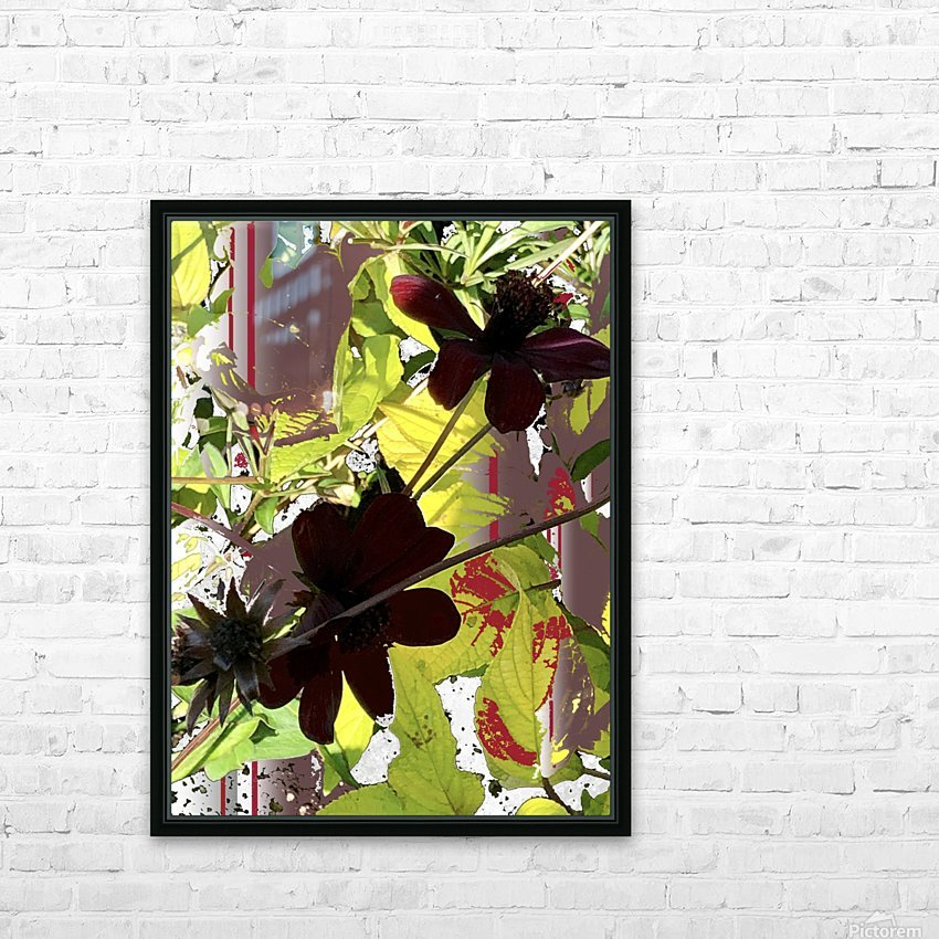 Mixed Floral Arrangement 200719 HD Sublimation Metal print with Decorating Float Frame (BOX)