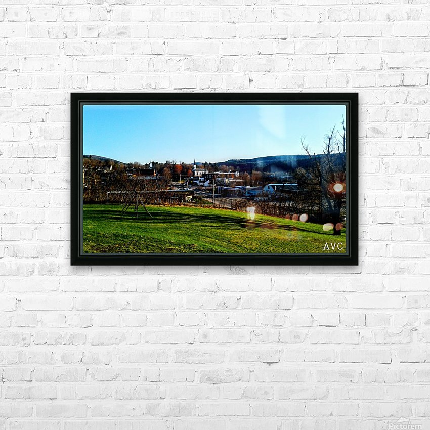 Northfield VT HD Sublimation Metal print with Decorating Float Frame (BOX)