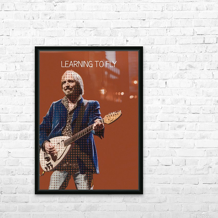 Learning To Fly   Tom Petty & the Heartbreakers HD Sublimation Metal print with Decorating Float Frame (BOX)