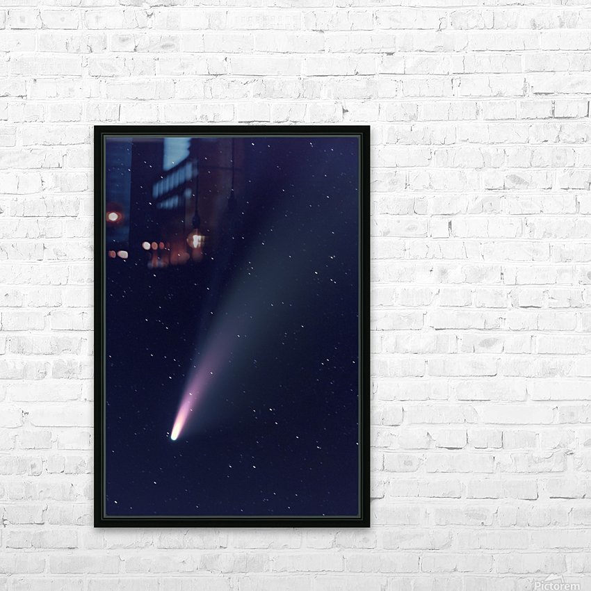 Neowise Comet 2020 HD Sublimation Metal print with Decorating Float Frame (BOX)