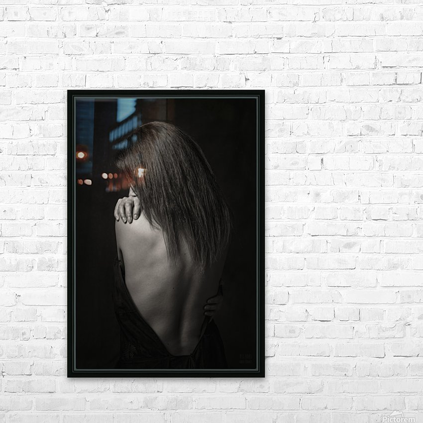 Melany 3 HD Sublimation Metal print with Decorating Float Frame (BOX)