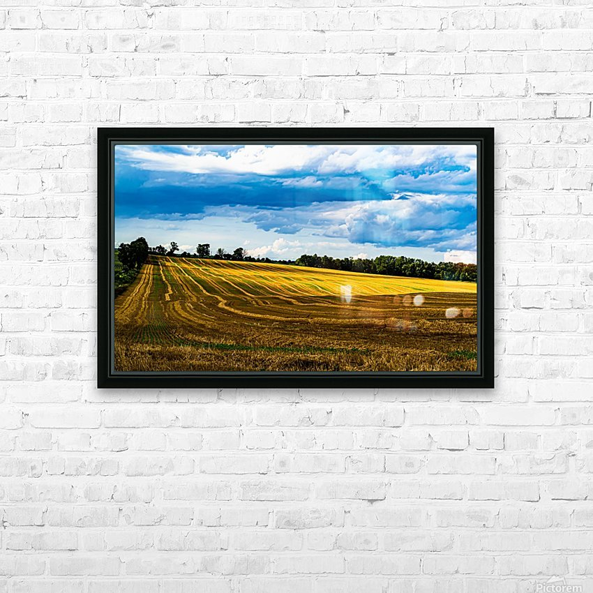 Contours of Taunton 1 HD Sublimation Metal print with Decorating Float Frame (BOX)