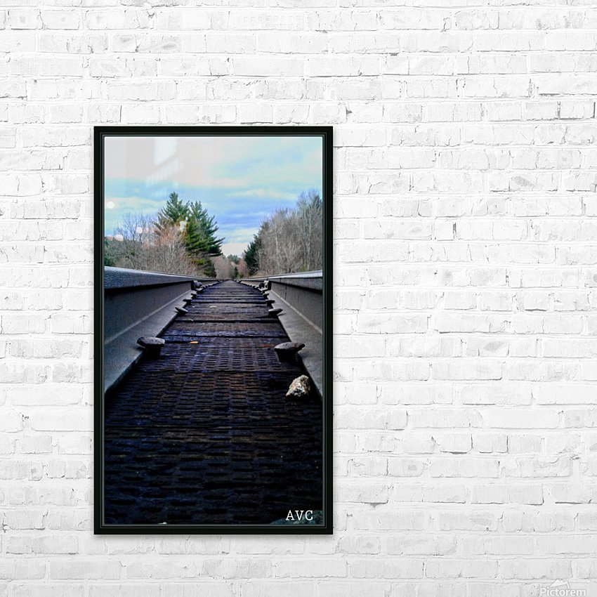 Tracks HD Sublimation Metal print with Decorating Float Frame (BOX)