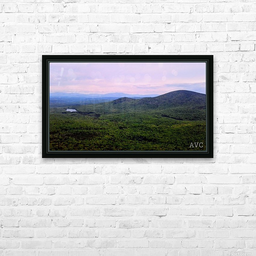 Spruce Mountain HD Sublimation Metal print with Decorating Float Frame (BOX)