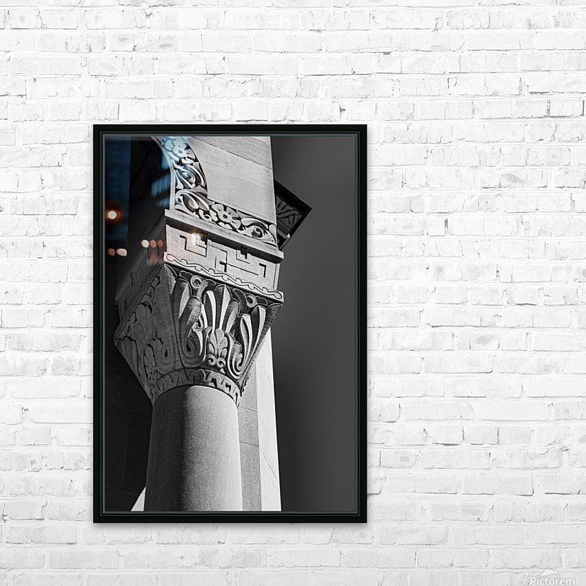 A Column for Lily HD Sublimation Metal print with Decorating Float Frame (BOX)