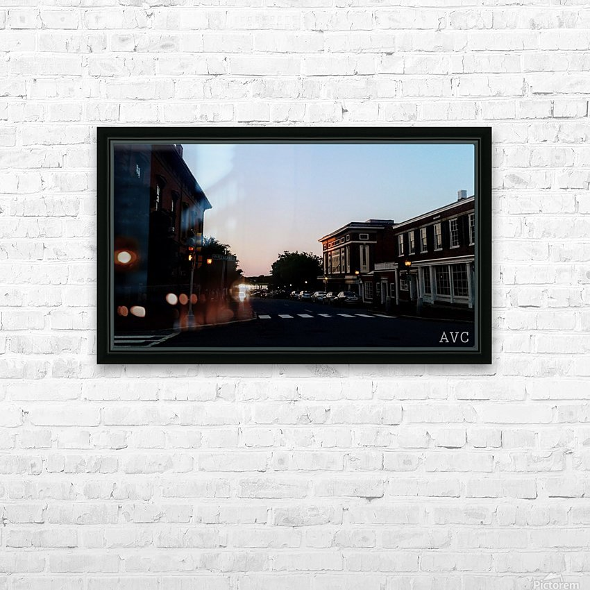 Corner of Pleasant HD Sublimation Metal print with Decorating Float Frame (BOX)