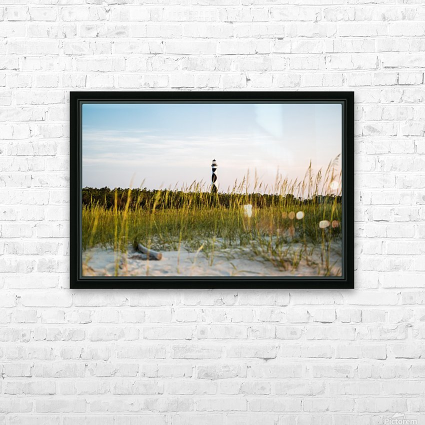 Lighthouse at Dawn HD Sublimation Metal print with Decorating Float Frame (BOX)