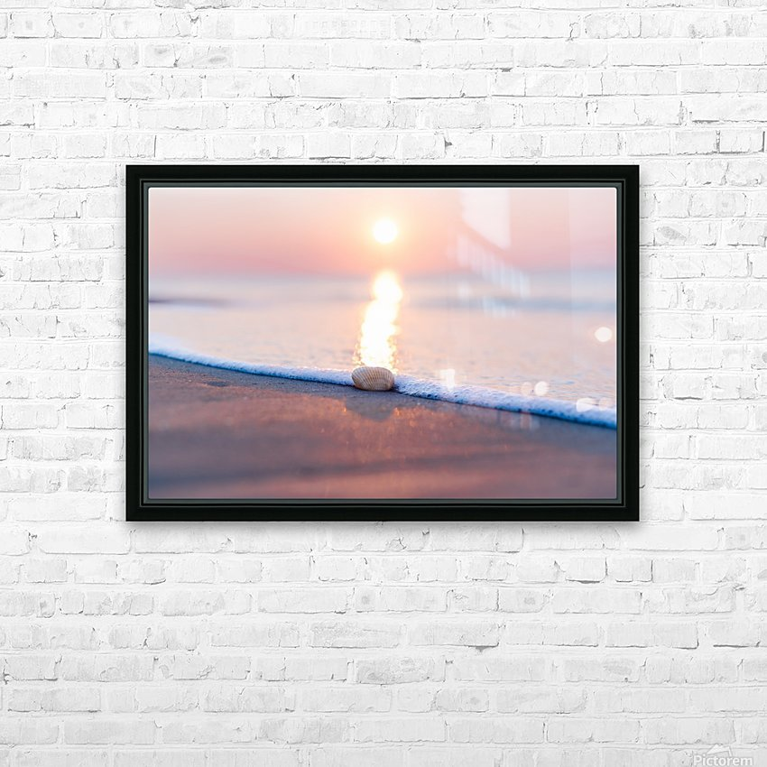 Touch of Light  HD Sublimation Metal print with Decorating Float Frame (BOX)