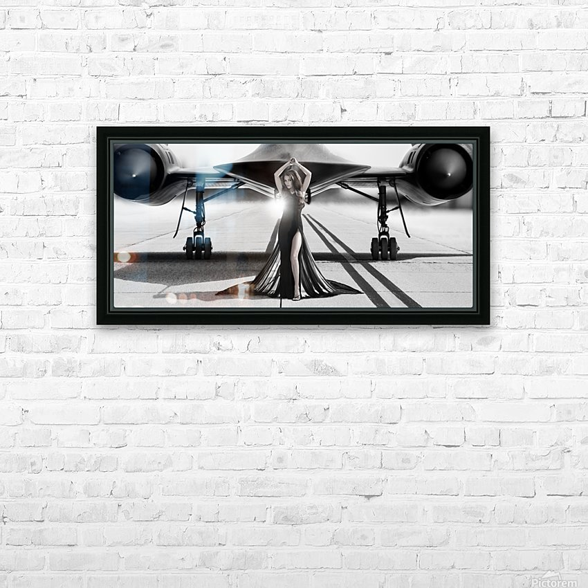 Area 71 Dark Diva HD Sublimation Metal print with Decorating Float Frame (BOX)
