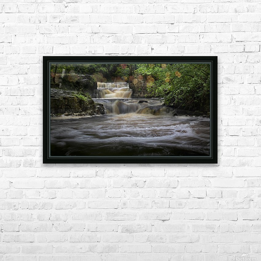 Rushing water at Horseshoe falls HD Sublimation Metal print with Decorating Float Frame (BOX)